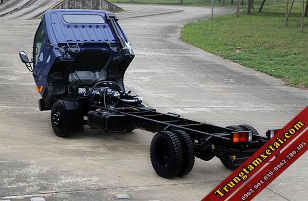khung gầm xe tải hyundai hd800 tải trọng 8 tấn-trungtamxetai.com
