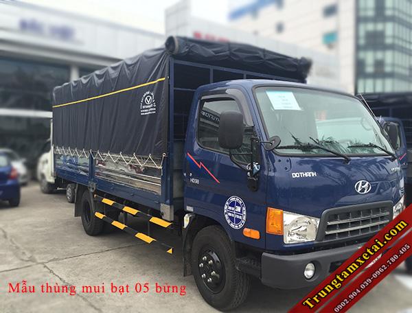 hyundai HD101 8 tấn thùng mui bạt-trungtamxetai.com