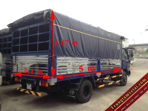 kích thước thùng xe hyundai hd101 8 tấn-trungtamxetai.com
