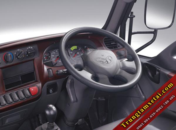 nội thất xe tải Hyundai HD65 2.5 tấn-trungtamxetai.com