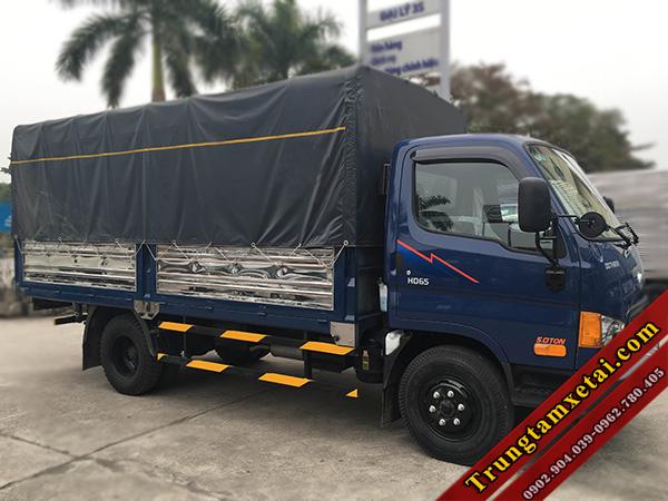 Xe tải HYUNDAI HD65 2,5 tấn nhập khẩu 3 cục - Dòng xe tải giá rẻ - trungtamxetai.com