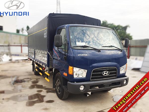 Xe tải Hyundai HD72 NK thùng mui bạt-trungtamxetai.com