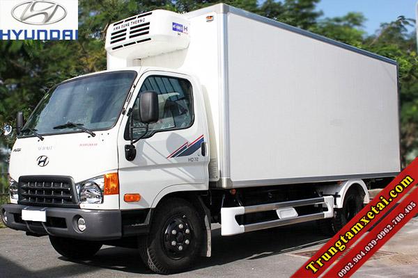 Xe tải Hyundai HD72 thùng đông lạnh nhập khẩu-trungtamxetai.com