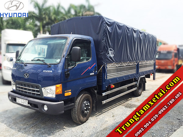 Xe tải HYUDNAI HD99 6T5 Đô Thành mui bạt bửng nâng hạ-trungtamxetai.com