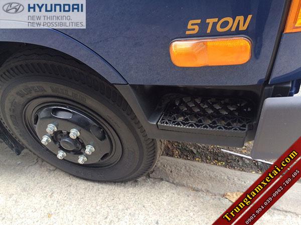 Lốp xe ben 5 tấn Hyundai HD99 Đô Thành-trungtamxetai.com