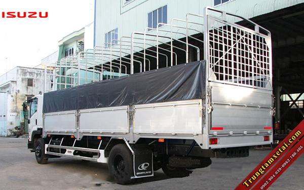 Xe tải ISUZU FN129 8T2 VM thùng mui bạt đóng Nhôm-trungtamxetai.com