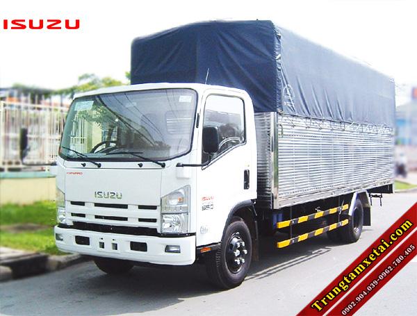 Xe tải ISUZU FN 8T2 VM thùng mui bạt-trungtamxetai.com