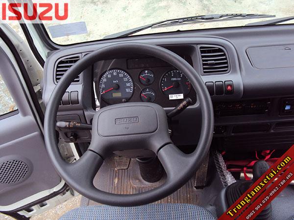 Cabin xe tải Isuzu 2 tấn QKR55H mui bạt-trungtamxetai.com