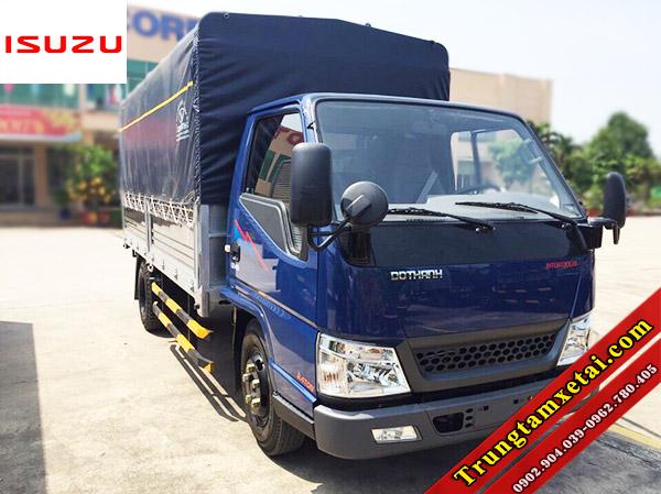 Xe tải Dothanh IZ49 2T4 thùng mui bạt động cơ ISUZU-trungtamxetai.com