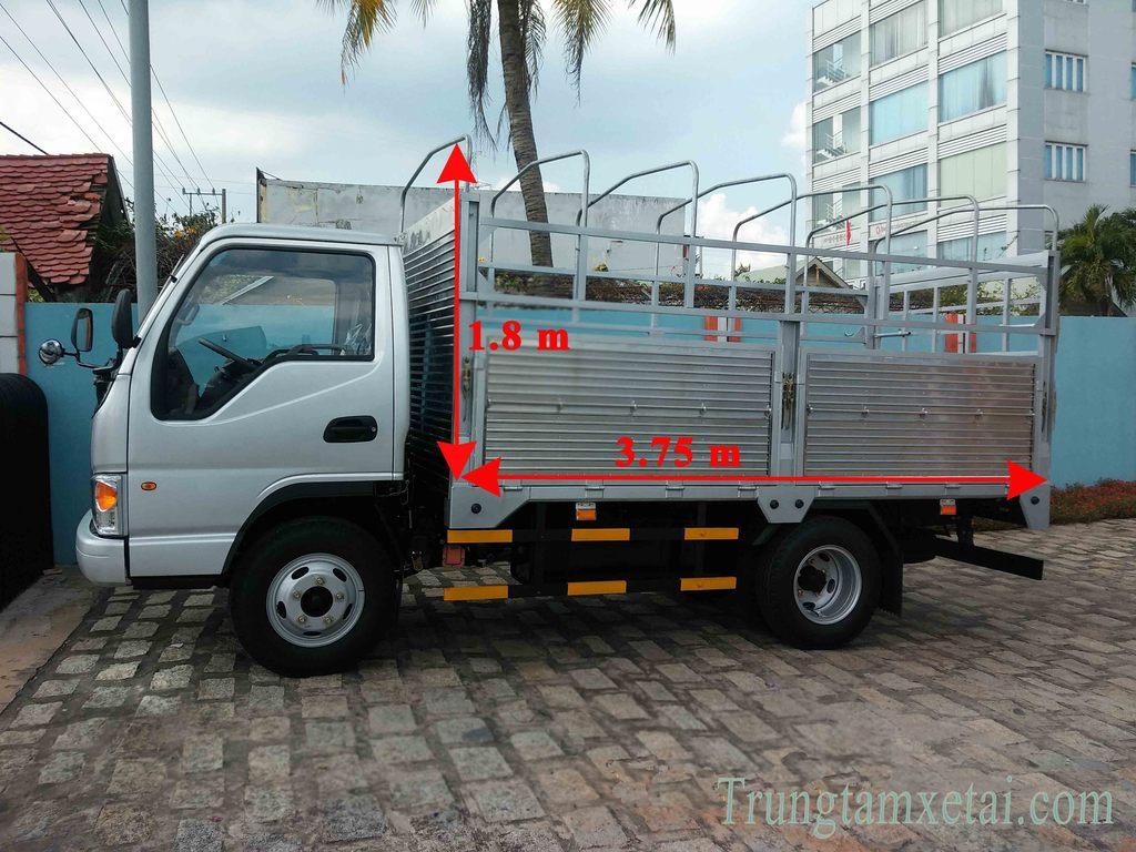 Thùng xe tải JAC 1T49-Trungtamxetai.com