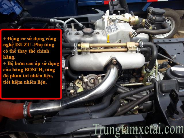 Động cơ xe tải JAC 2t4 mới-trungtamxetai.com