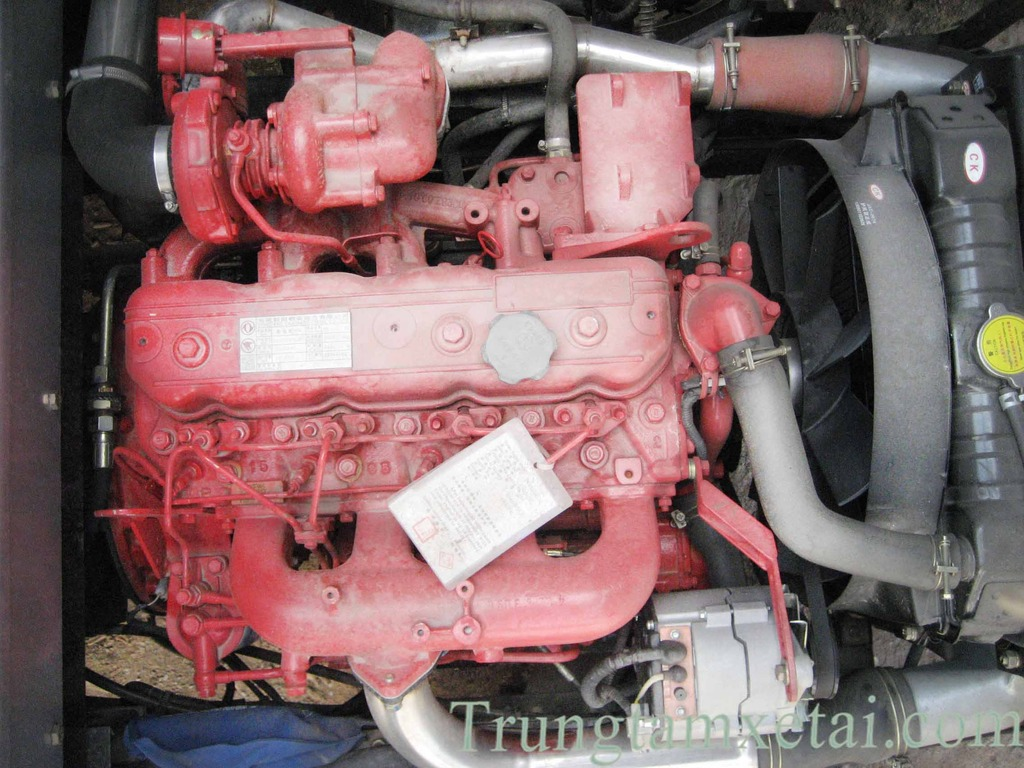 Động cơ xe tải JAC 4t9-trungtamxetai.com