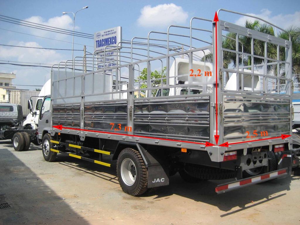 Thùng xe tải JAC 8T4-trungtamxetai.com
