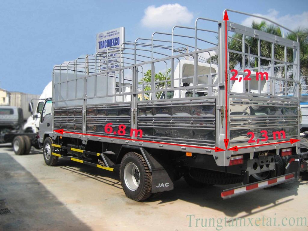 Thùng xe tải JAC 9T1-trungtamxetai.com