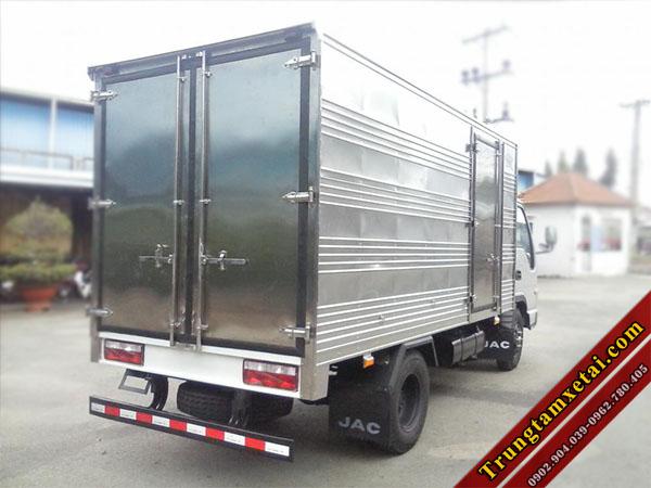 Xe tải Jac 3t45 thùng kín HFC 1042K2 động cơ ISUZU-trungtamxetai.com