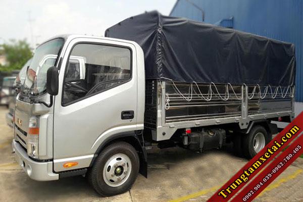 Xe tải Jac 3t45 thùng mui bạt động cơ ISUZU-trungtamxetai.com