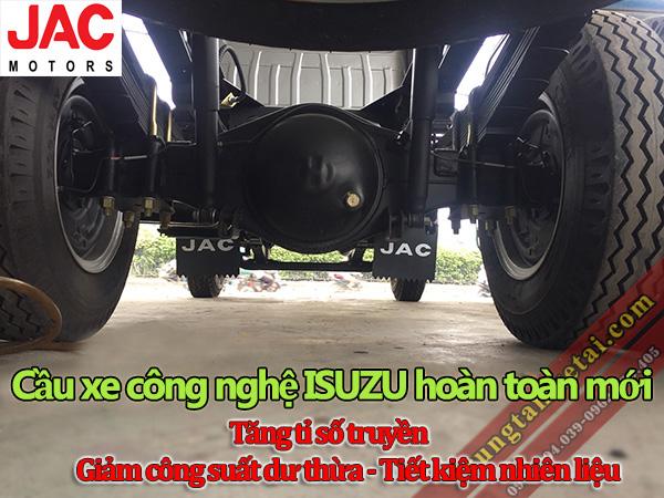 Cầu-hộp số xe tải JAC 4T95 4950LD công nghệ ISUZU-trungtamxetai.com