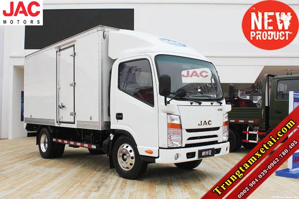 Xe tải JAC 4T95 4950LD thùng kín đại lý xe tải JAC HCM-trungtamxetai.com