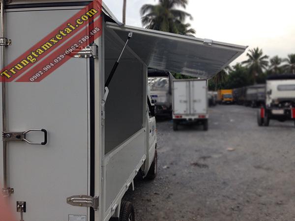Nội thất xe tải veam star thùng cánh dơi-trungtamxetai.com
