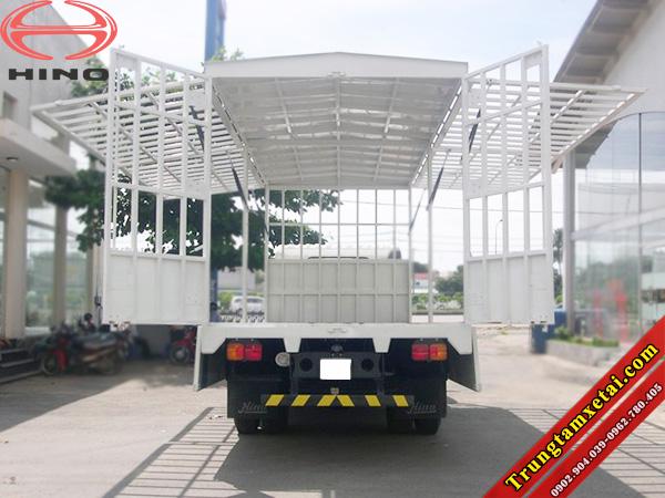 Thùng xe cánh dơi-thùng bán hàng lưu động mui bạt-trungtamxetai.com