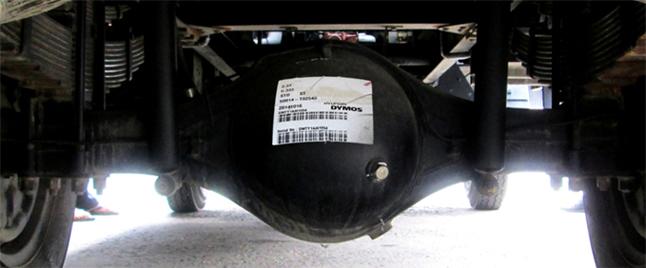 Cầu xe tải veam bull 2t5 - trungtamxetai.com