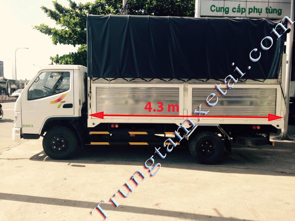 Xe tải veam bull 2t5 - trungtamxetai.com