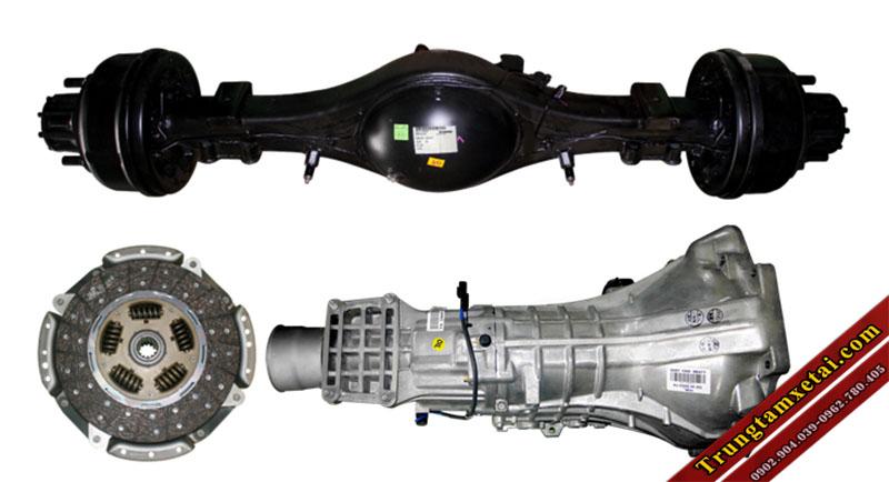 động cơ hyundai xe ben vb200