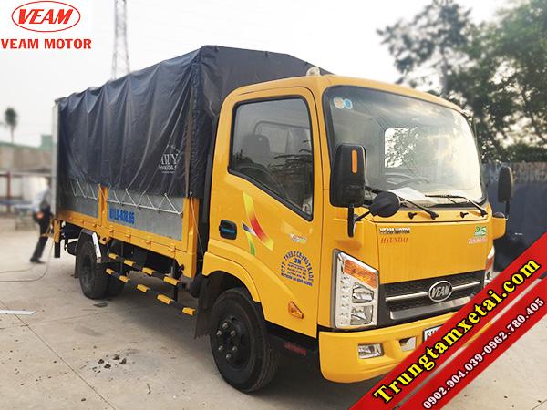 Xe tải VEAM VT200 2T bửng nâng hàng-trungtamxetai.com