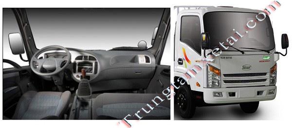 Cabin xe tải VEAM VT252-trungtamxetai.com