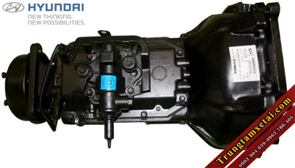 Hộp số Hyundai xe cứu hộ Veam VT300CH-trungtamxetai.com