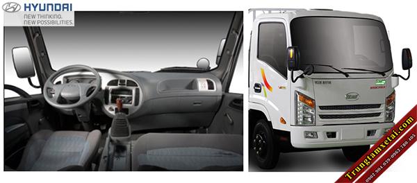 Cabin xe tải Veam VT350 3T5 MB1 thùng lớn đời 2016-trungtamxetai.com