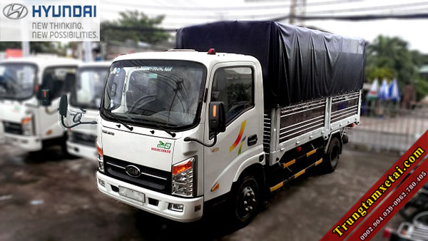 Xe tải Veam VT350 MB1 3T5 thùng lớn-trungtamxetai.com