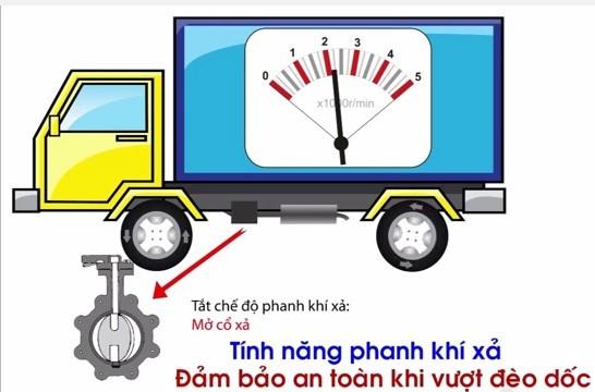 Hệ thống phanh xe tải veam vt498 5t-trungtamxetai.com