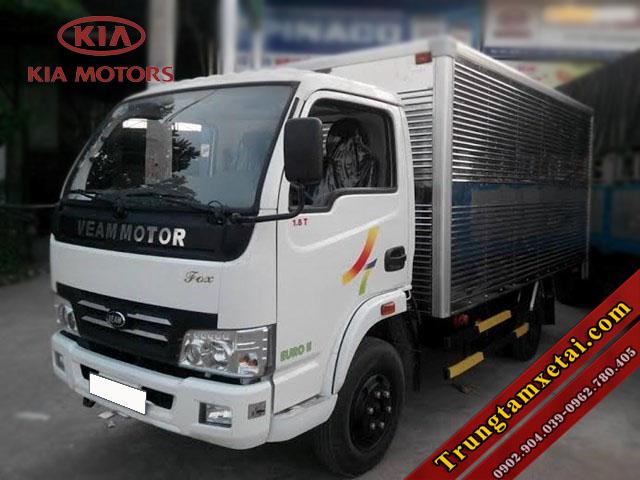 Xe tải Veam Fox 1T5 động cơ KIA J2 chính hãng-trungtamxetai.com