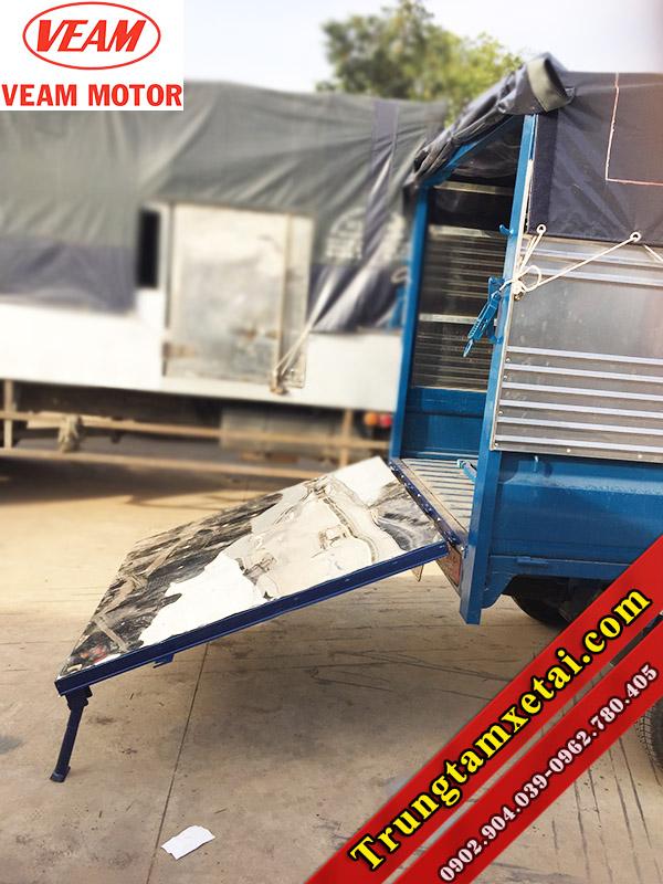 Thùng xe tải Veam Star 740Kg mui bạt chở bò-trungtamxetai.com