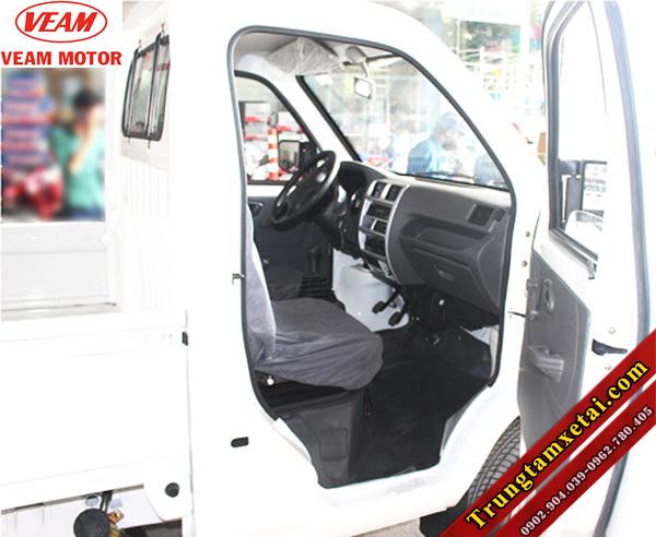 Cabin nội thất xe tải Changan Veam Star mui bạt chở bò-trungtamxetai.com