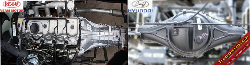 Động cơ HYundai D4BF xe tải Veam VT201 1T99-trungtamxetai.com