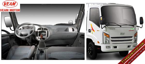 Cabin-nội thất xe tải Veam VT201 1T99-trungtamxetai.com