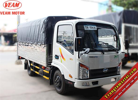 Xe tải Veam VT201 2 tấn giá rẻ vào tp ban ngày-trungtamxetai.com