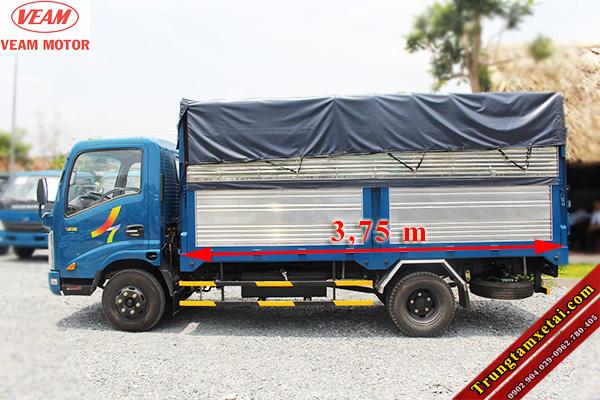 Xe tải Veam VT201 thùng mui bạt-trungtamxetai.com