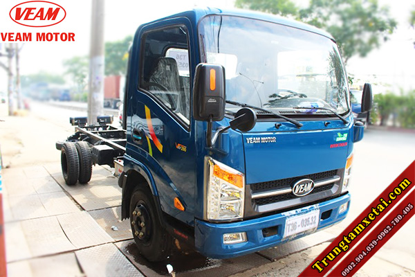 Xe tai Veam VT201 2T chassis-trungtamxetai.com