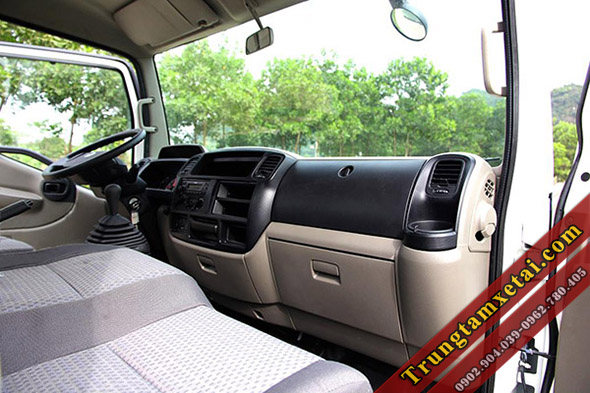 Nọi thất Cabin xe tải Veam VT651 máy Nissan-trungtamxetai.com