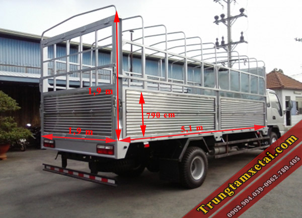 thùng xe tải Veam VT65-trungtamxetai.com