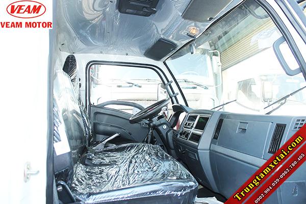 Cabin-nội thất xe tải Veam VT751 7T2-trungtamxetai.com