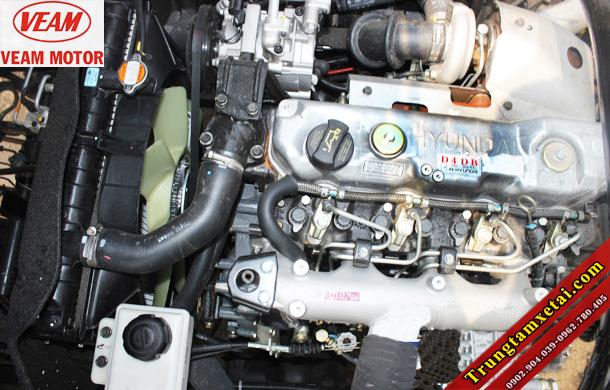 Động cơ Hyundai D4DB trên xe tải Veam VT751 7T2-trungtamxetai.com