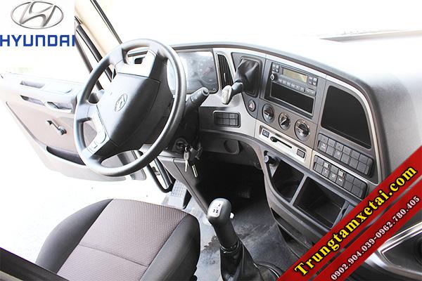 Cabin xe ben Hyundai trago 12 tấn 2 cầu 9 khối 7-trungtamxetai.com