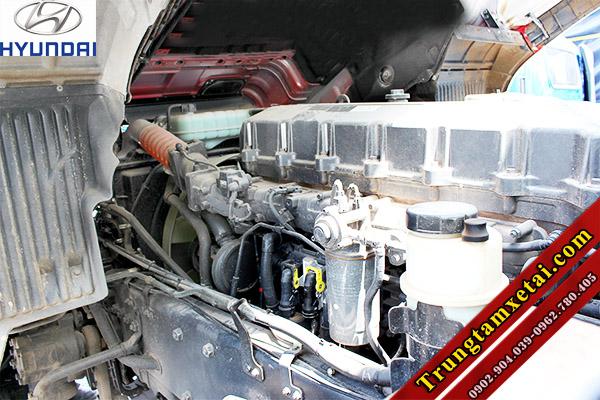 Động cơ xe ben Hyundai Trago 12 tấn 2 cầu 9 khối 7-trungtamxetai.com