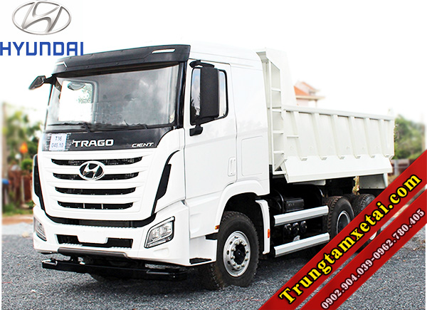 Xe ben Hyundai Trago 12 tấn 2 cầu 9 khối 7-trungtamxetai.com
