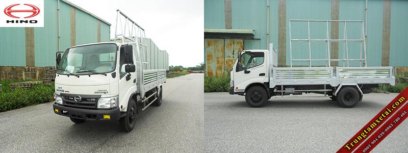 Xe tải chở kính chuyên dụng Hino-trungtamxetai.com