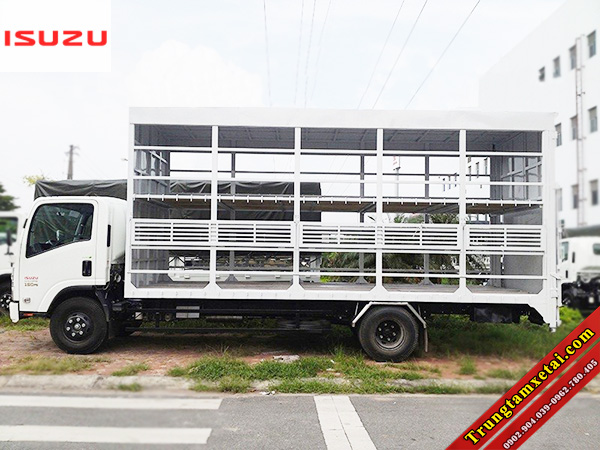 Xe tải chở xe máy có bửng nâng 2 tầng ISUZU